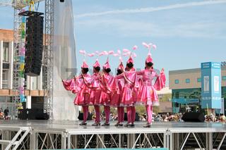 Festive concert. May 1 holiday. Kazakhstan. Aktau.