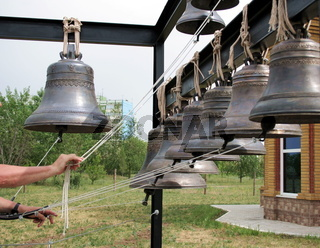 Bells for the bell tower 2. Church of Feodor Ushakov.