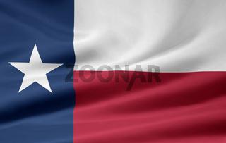 Flagge von Texas - USA