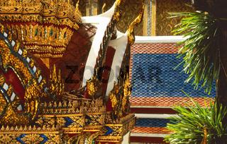 Goldenes Mosaik
