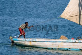Mozambican fisherman