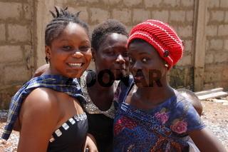 Ghanaische Teenager