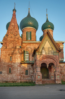 Church of St. John Chrysostom in Yaroslavl.