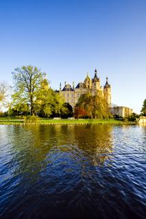 Schloss Schwerin, Mecklenburg-Vorpommern, Deutschland
