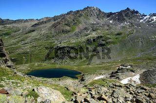 Radsee im Bieltal Silvrettagebiet