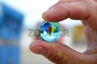 Meine Welt in Deiner Hand