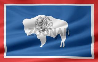 Flagge von Wyoming - USA