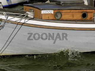 Zeesenboot auf Fischland-Darß