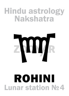Astrology: Lunar station ROHINI (nakshatra)