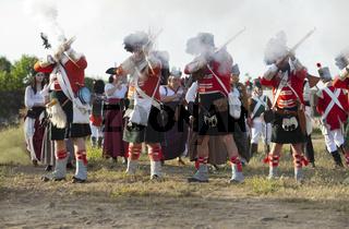 Scottish infantry shooting