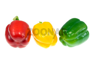 Three peppers.