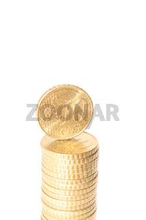 10 cent Stapel