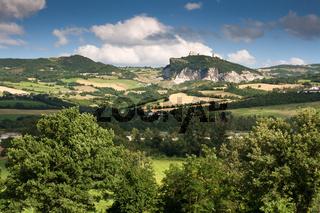 Landschaft in den Marken, Italien