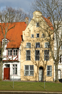 ganghaus in luebeck an der trave