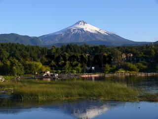 Vulkan Villarica bei Pucon