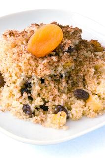 Süßer afrikanischer Couscous - Sweet African Couscous