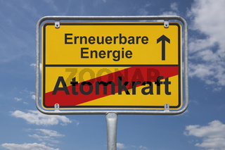 Ende Atomkraft, Anfang Erneuerbare Energie | end of nuclear power