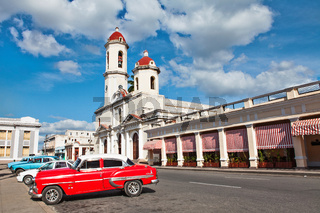 Our Lady of the Immaculate Conception Cathedral in Cienfuegos, Cuba