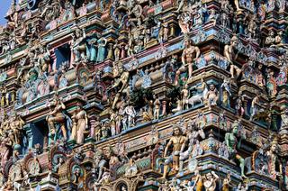 Ancient Shiva temple at Chennai tamilnadu India