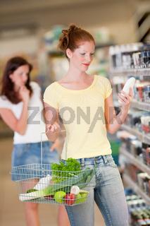 Shopping series - Red hair woman