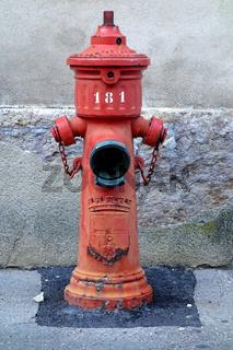 Ueberflurhydrant ohne Fallmantel