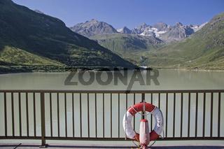 Vermuntstausee im Silvrettagebirge