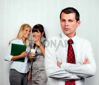 Mobbing am Arbeitsplatz im Büro