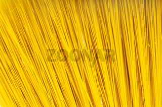 Long spaghetti arranged at background