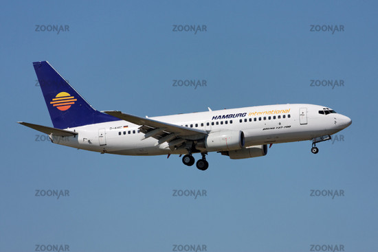 Hamburg International - Boeing 737-7BK