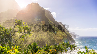Napali Coast on Kauai (Hawaii)