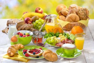 Sommerfrühstück