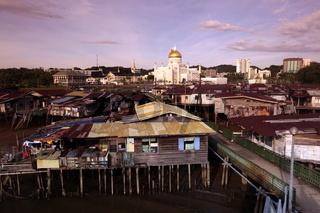 Momentaufnahme aus dem Sultanat Brunei auf der Insel Borneo