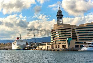 Barcelona seaport. Spain