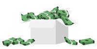 Geld in der Schachtel