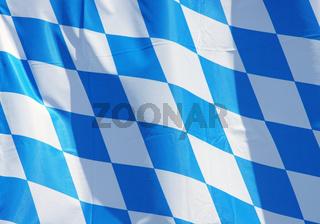 Landes Flagge von Bayern