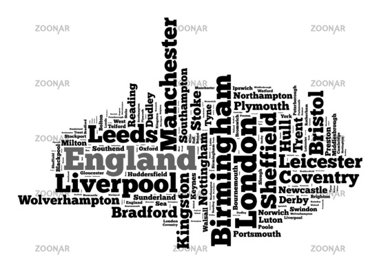 Localities in England