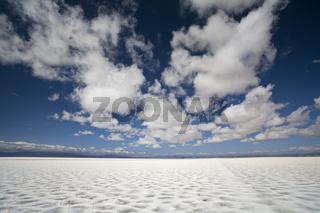 Salzsee Salinas Grandes, Paso de Jama, Argentinien, Salt lake Salinas Grandes, across the Andes, Argentina