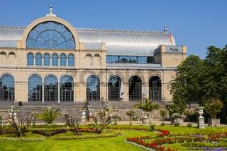 Botanischer Garten, Festhaus der Flora, Köln, Nordrhein-Westfalen, Deutschland, Europa