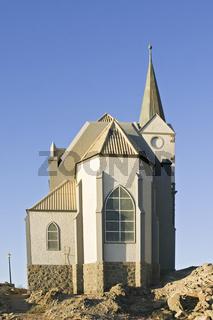 Felsenkirche in Luederitz, Namibia, Afrika, Felsenkirche, Church on Rocks, Africa