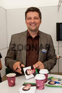 Moderator Christian Müller