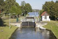 Kanal bei Himmelpfort, Brandenburg, Deutschland