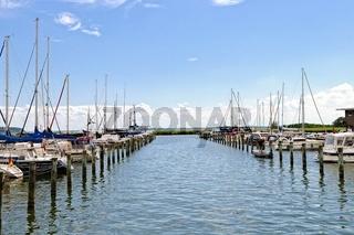 Naturhafen Krummin Hafeneinfahrt