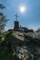 Gipfelkreuz des Grossen Falkenstein