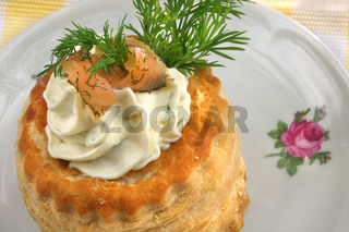 Lachs designed Fingerfood
