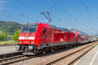 Energieeffiziente Fahrzeuge bei der Deutschen Bahn - E-Lok Baureihe 146