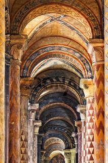 romanische Kirche Notre-Dame-la-Grande, Poitiers, Poitou-Charentes, France