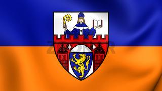 3D Flag of the Siegen, Germany.