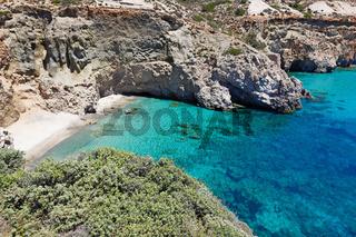 Tsigrado in Milos, Greece