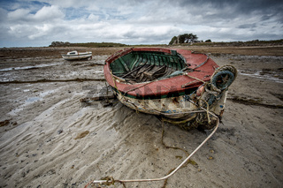 Old Boats in Brittany France