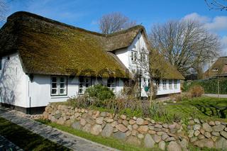 Haus auf der Insel Sylt